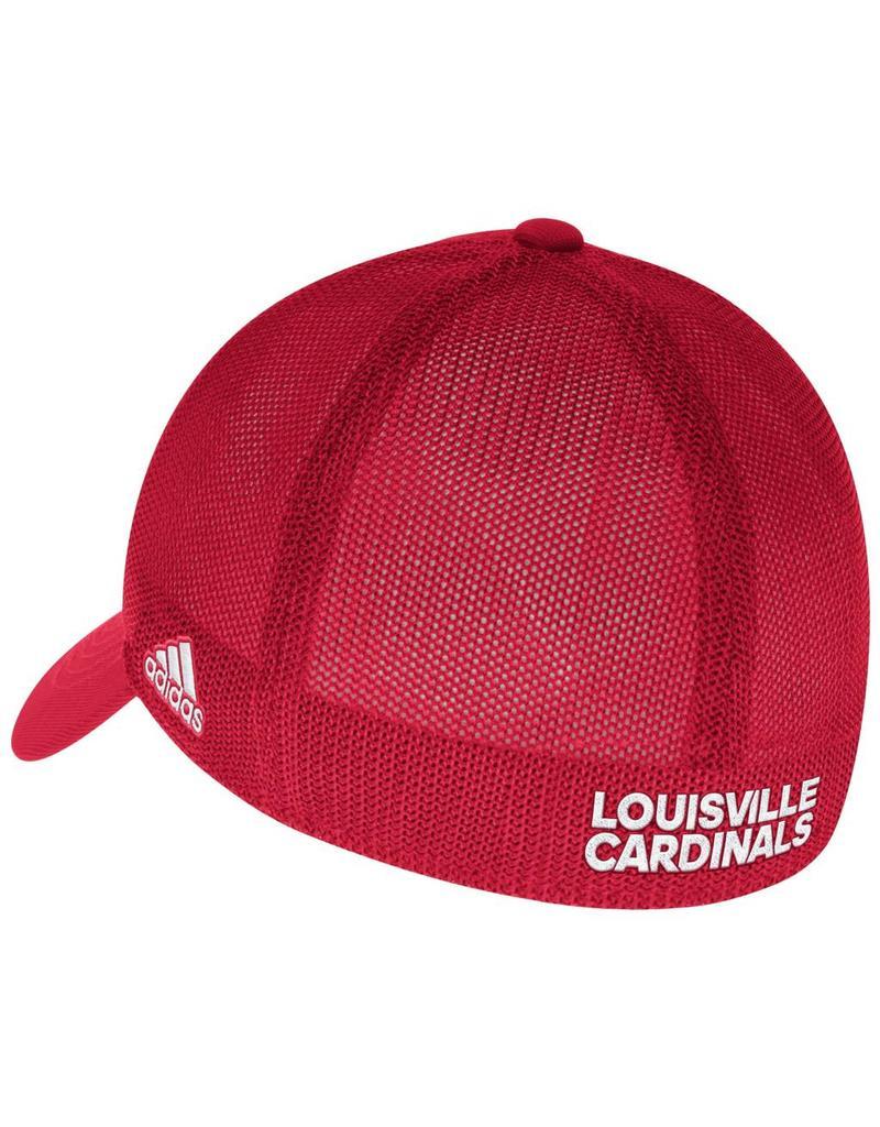 Adidas Sports Licensed HAT, FLEX FIT, ADIDAS, MESH BACK, COACH, RED, ULHAT, FLEX-FIT, MESH BACK, COACH, UL