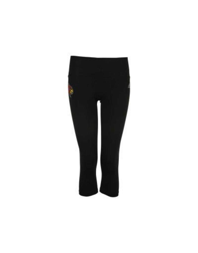 Adidas Sports Licensed LEGGINGS, LADIES, ADIDAS, MID-RISE, BLACK, UL