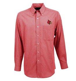 Antigua Group DRESS SHIRT, LS, ASSOCIATE, RED, UL
