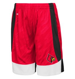 Colosseum Athletics SHORT, YOUTH, SLEET, RED, UL