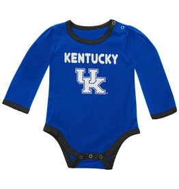 Colosseum Athletics ONESIE, INFANT, SS, GIRLS, BLING, ROYAL, UK