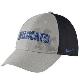 Nike Team Sports HAT, FLEX FIT, NIKE, SWOOSH, GRAY, UK