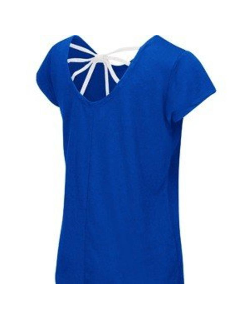 Colosseum Athletics TEE, YOUTH, GIRLS, SS, BOW, ROYAL, UK