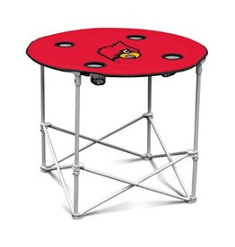 LOGO BRANDS TABLE, ROUND, TAILGATING, UL