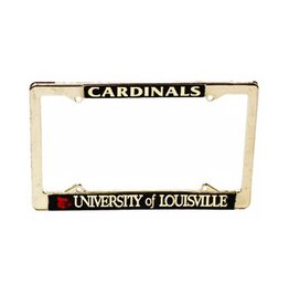 LICENSE FRAME, METAL, UL
