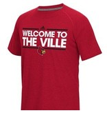 Adidas Sports Licensed TEE, SS, ADIDAS, WELCOME, VILLE, RED, UL