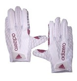 Saranac Gloves GLOVES, ADIDAS, ADIZERO, RECEIVER, WHITE, UL