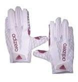 Saranac Gloves GLOVES, ADIDAS, OUTLINE, RECEIVER, WHITE, UL
