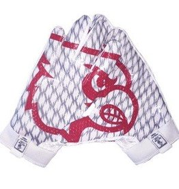Saranac Gloves GLOVES, ADIDAS, OUTLINE, RECEIVER, WHITE, UL