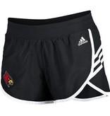 Adidas Sports Licensed SHORT, LADIES, ADIDAS, STRIPES, BLACK, UL