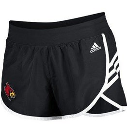 Adidas Sports Licensed SHORT, LADIES, ADIDAS, STRIPES, BLACK, UL
