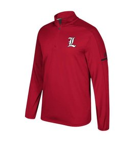 Adidas Sports Licensed PULLOVER, 1/4 ZIP, ADIDAS, COACH, RED, UL