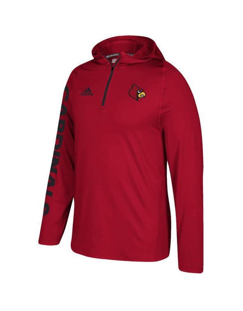Adidas Sports Licensed HOODY, ADIDAS, TRAINING, RED, UL