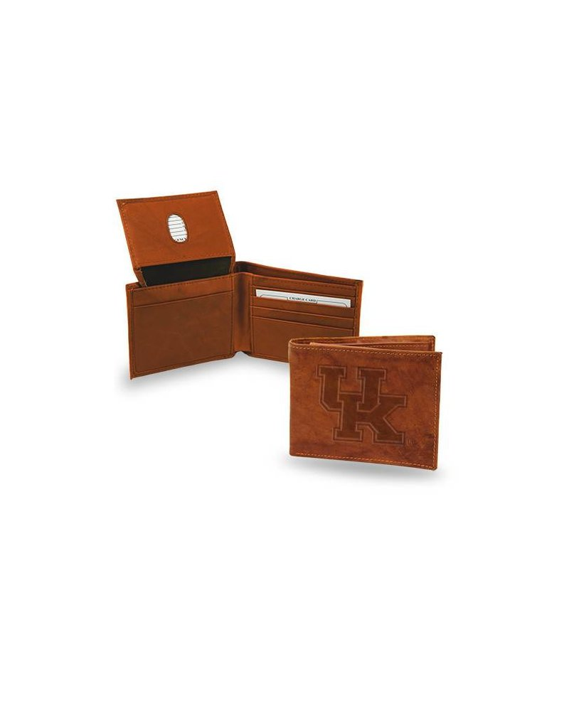Rico Industries WALLET, BILLFOLD, LEATHER, BROWN, UK