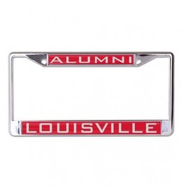 Laser Magic-Wincraft LICENSE FRAME, ALUMNI, RED, UL