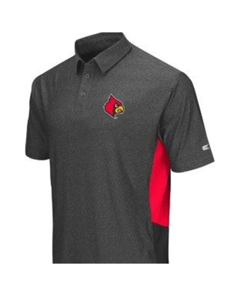 Colosseum Athletics POLO, BRO, CHAR/RED, UL