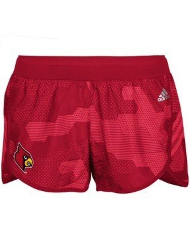 Adidas Sports Licensed SHORT, LADIES, ADIDAS, RED CAMO, RED, UL