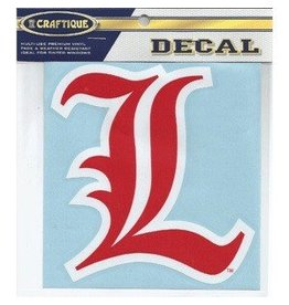 Craftique DECAL, OLD ENGLISH L, 12 INCH, UL