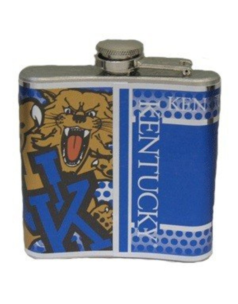 FLASK, STAINLESS STEEL, 6oz, UK