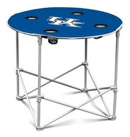 LOGO BRANDS TABLE, TAILGATING, ROUND, UK