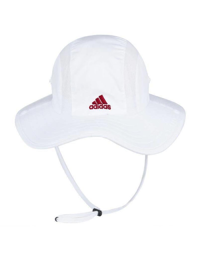 Adidas Sports Licensed HAT, SAFARI, ADIDAS, WHITE, UL