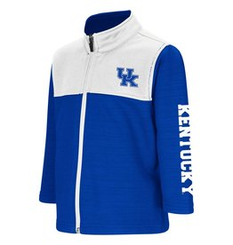Colosseum Athletics JACKET, TODDLER, FULL-ZIP, CLUTCH, ROYAL/WHITE, UK