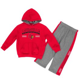 Colosseum Athletics SET, INFANT, PUNTER HOODY, RED/GRY, UL