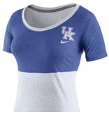 Nike Team Sports TEE, LADIES, SS, NIKE, ROYAL/WHITE, UK