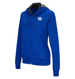 Colosseum Athletics HOODY, LADIES, FULL-ZIP, MEDLEY, ROYAL, UK