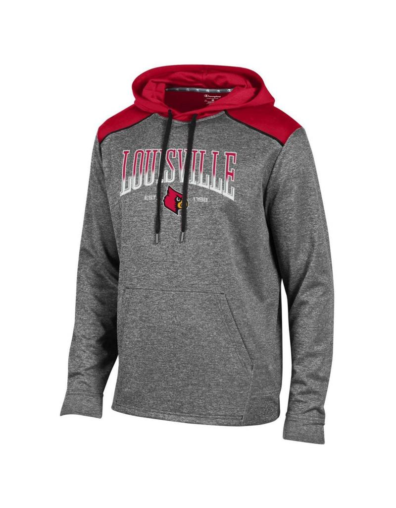 Champion Products HOODY, UNLIMITED, CHAR/RED, UL