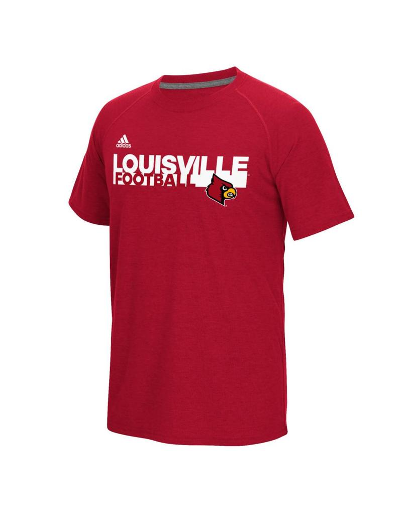 Adidas Sports Licensed TEE, SS, ADIDAS, SIDELINE GRIND, RED, UL