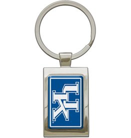 Stockdale Technologies KEY RING, RECTANGLE, CHROME, UK