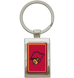 Stockdale Technologies KEYRING, RECTANGLE, CHROME, UL