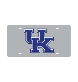 Stockdale Technologies LICENSE PLATE, STAINLESS STEEL, UK