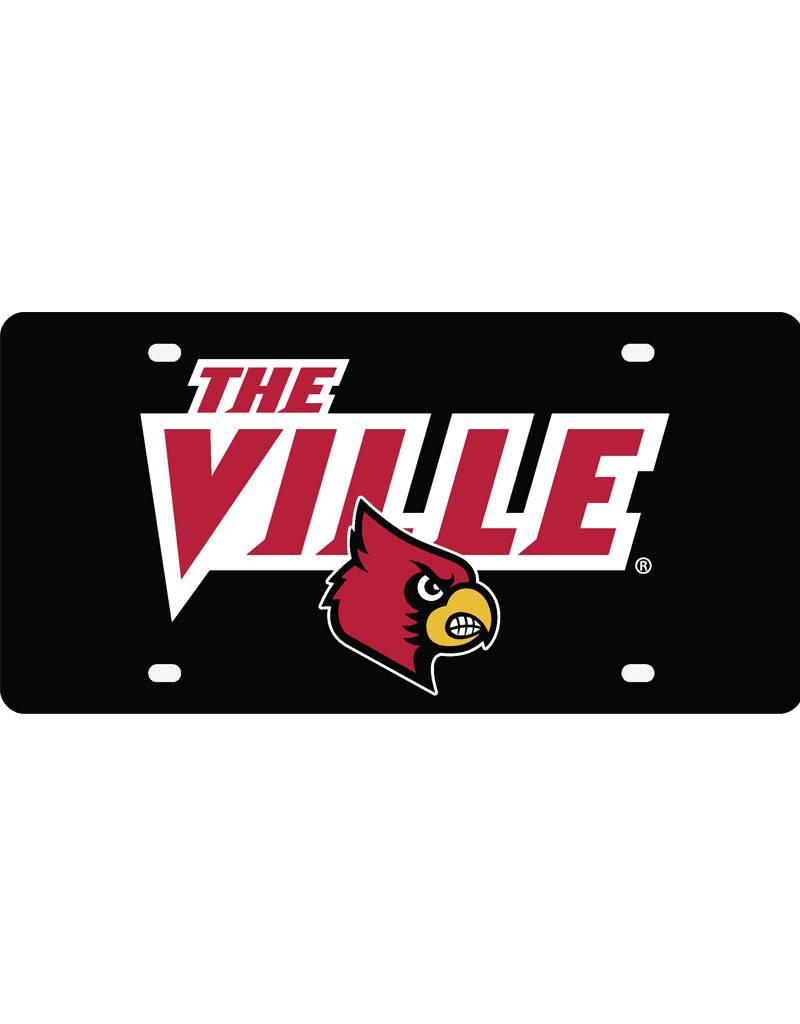 Stockdale Technologies LICENSE PLATE, THE VILLE, BLACK, UL