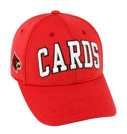 Top of the World HAT, ADJUSTABLE, SO CLEAN, RED, UL