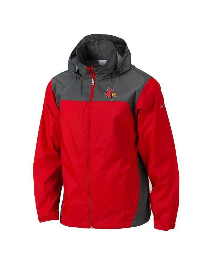 JACKET, STORM, RED/BLK, UL
