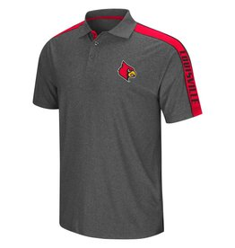Colosseum Athletics POLO, SOUTHPAW, CHARCOAL/RED, UL