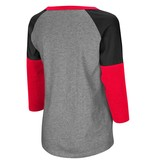 Colosseum Athletics TEE, LADIES, LS, P-BARS, 3 COLOR, UL