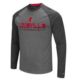 Colosseum Athletics TEE, LS, ULTRA, HEATHER/CHARCOAL, UL
