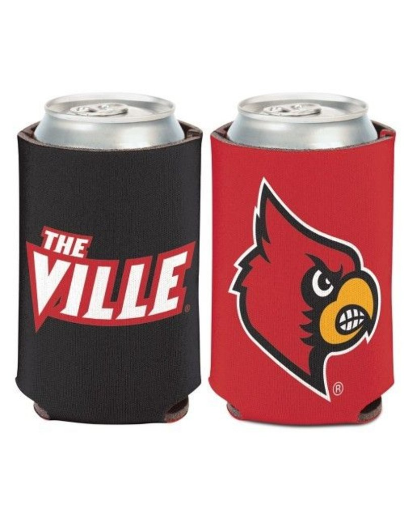 Wincraft Inc CAN HUGGIE, THE VILLE, RED/BLACK, UL