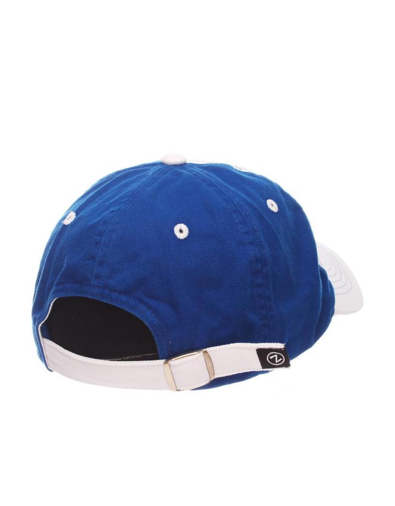 Zephyr Graf-X HAT, LADIES, ADJUSTABLE, VOGUE, WHT/ROY, UK