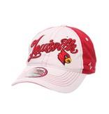 Zephyr Graf-X HAT, LADIES, ADJUSTABLE, VOGUE, WHITE/RED, UL
