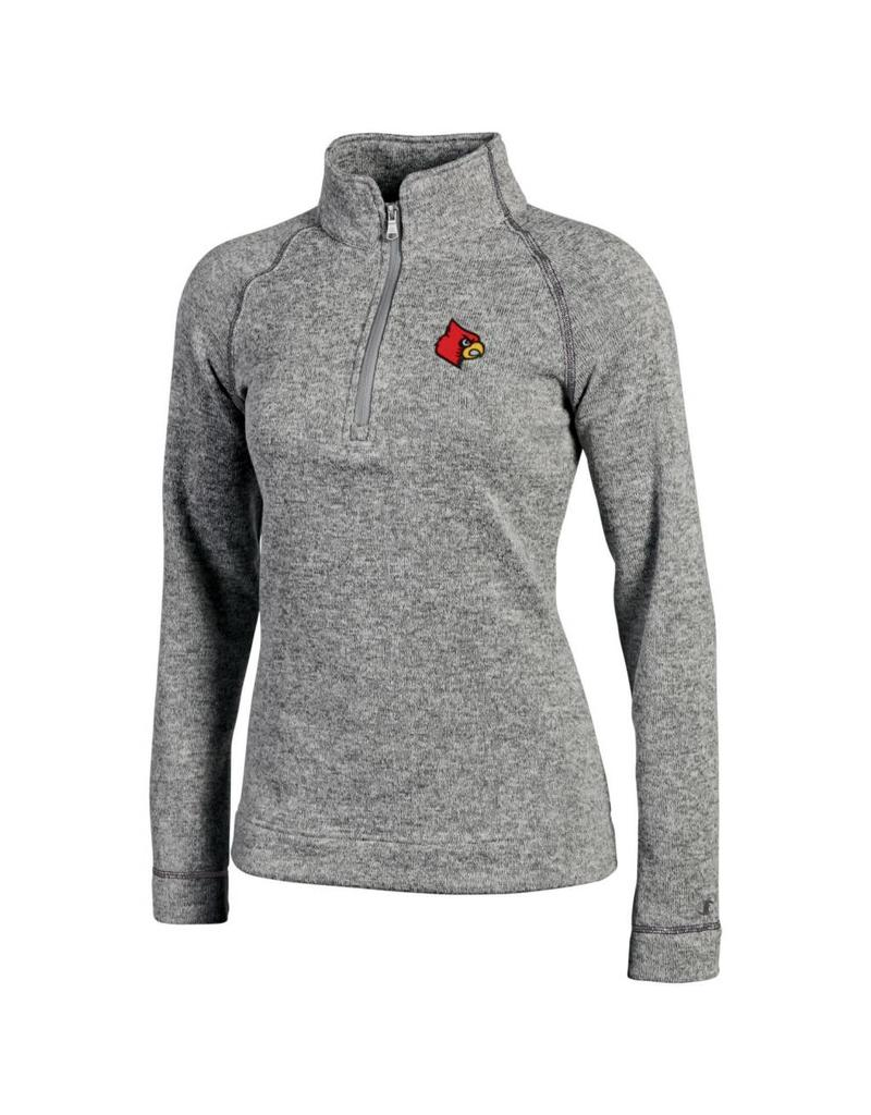 Champion Products PULLOVER, LADIES, 1/4 ZIP, ARCTIC, GRAY, UL