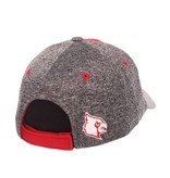 HAT, LADIES, ADJUSTABLE, TEMPEST, RED/GRAY, UL