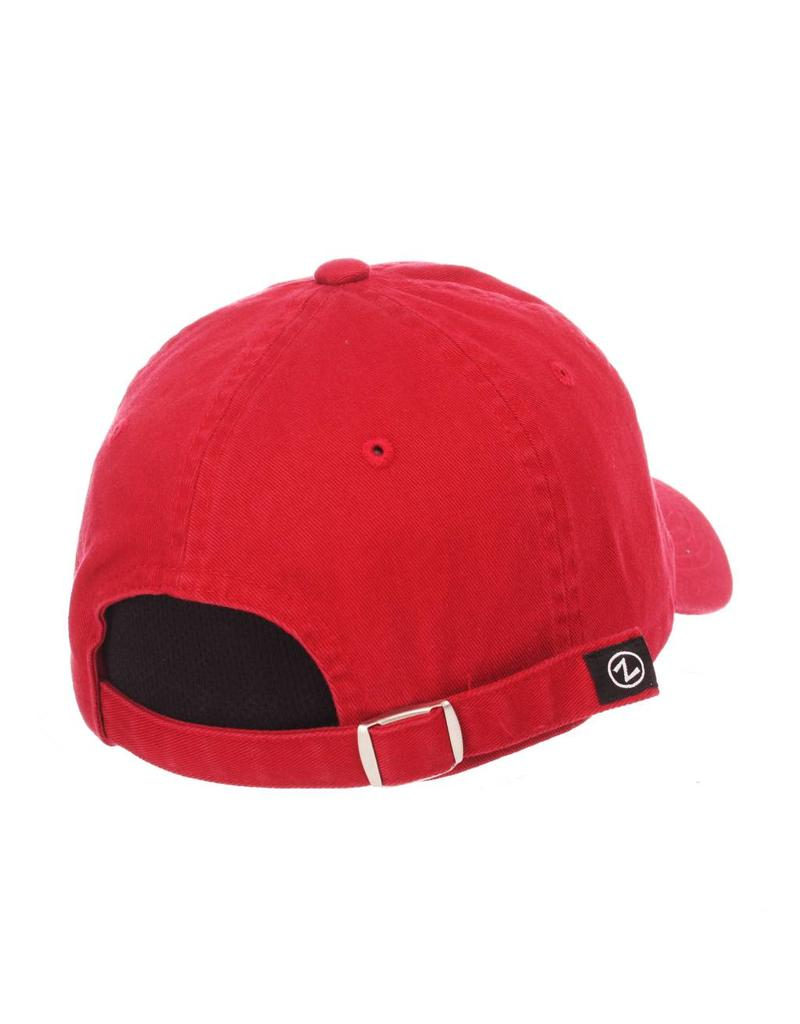 Zephyr Graf-X HAT, LADIES, ADJUSTABLE, GIRLFRIEND, RED, UL
