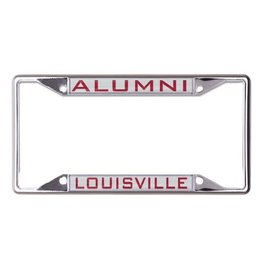 Laser Magic-Wincraft LICENSE FRAME, ALUMNI, SILVER, UL