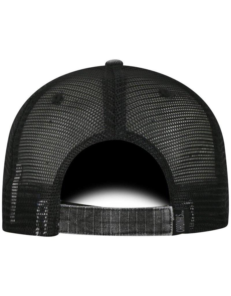 Top of the World HAT, ADJUSTABLE, PLOOM, BLACK, UL