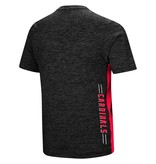 Colosseum Athletics TEE, SS, POLY, D. HITTER, BLACK, UL