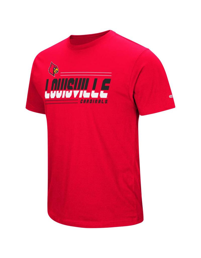 Colosseum Athletics TEE, SS, THE HAMMER, RED, UL